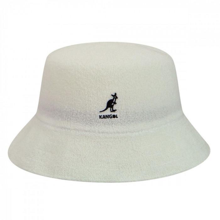 Palarie Kangol Bermuda Bucket Alb (Masura : L,XL) - Cod 432423520