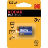 Baterie litiu max Kodak CR123A 1 Bucata /Set