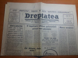 """dreptatea 13 martie 1991-articolul """" dreptatea economica """""""