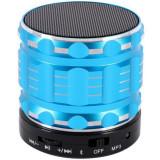 Cumpara ieftin Boxa Portabila Bluetooth iUni DF12, Slot Card, Metal, Blue