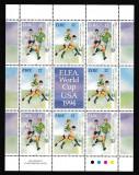 Irlanda - FOTBAL - USA 1994 - Bloc - Nestampilat