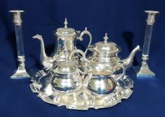 Serviciu Cafea Ceai Argintat foto
