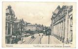 4370 - BUCURESTI, Market, Romania - old postcard, CENSOR - used - 1918, Circulata, Printata