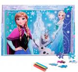 Puzzle 160 piese + Bonus Frozen, Disney