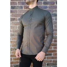 Camasa tunica cachi- camasa tunica LICHIDARE STOC camasa slim #214