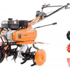 Motosapa Ruris 7009ACC1 + roti cauciuc + roti metalice 300 fara manicot + rarita