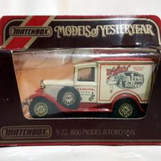 "1930 Model ""A"" Ford Van - Matchbox"