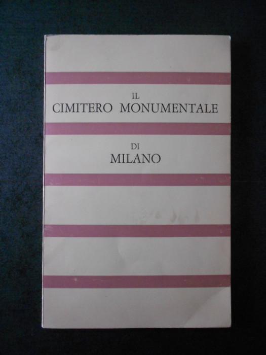 FRANCESCO SILVIO BORRI - IL CIMITERO MONUMENTALE DI MILANO (limba italiana)