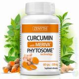 Curcumin (Turmeric) cu Meriva 60cps. (cancer, articulatii, ficat, creier) Zenyth