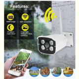 Camera IP Supraveghere Exterior IR WIFI 1080P HD