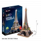 Cumpara ieftin Puzzle 3D LED Turnul Eiffel, CubicFun