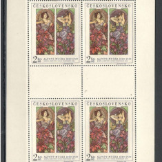 Cehoslovacia.1969 Grafica-coala mica  XC.303