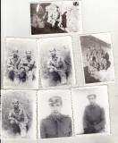 Bnk foto - Militari - 1979 - lot 7 fotografii, Alb-Negru, Militar, Romania de la 1950