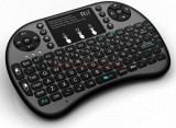 Mini tastatura wireless 2,4 Gh cu functie de mouse si touchpad