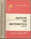 Cumpara ieftin Sinteze De Matematica. Aplicatii III - Catalin-Petru Nicolescu
