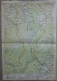 Turnu Severin// harta lito 1929, M. D. Moldoveanu
