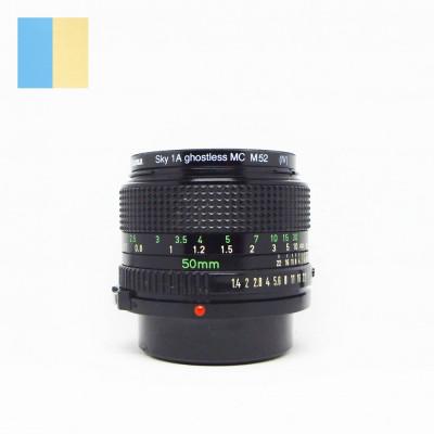 Obiectiv Canon 50mm f/1.4 montura Canon FD foto