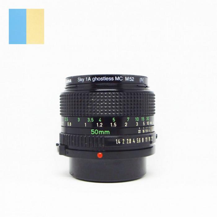 Obiectiv Canon 50mm f/1.4 montura Canon FD