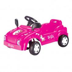 Masina Smart cu pedale Dolu Unicorn, prevazuta cu oglinzi si claxon