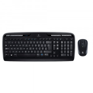 Kit Tastatura + Mouse Wireless Logitech MK330
