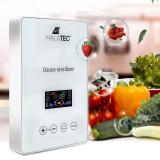 Cumpara ieftin Generator de ozon 15W, purificare si dezinfectare apa si aer, 400 mg/h, afisaj LCD, timer, Malatec