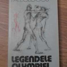 LEGENDELE OLYMPIEI - CLEANTHIS PALEOLOGOS