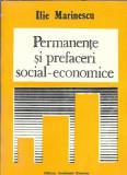Permanente si preafaceri social-economice - Ilie Marinescu