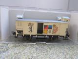 Vagon marfa inchis, Deutsche Reichsbahn,  scara 1/87, Fleischmann, 1:87, H0 - 1:87, Vagoane