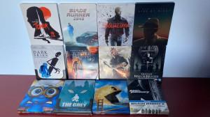 LOT 12 filme BluRay 2D si 3D STEELBOOK , cu sau fara romana, NOI !