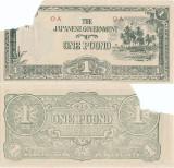 1943 , 1 pound ( P-R5a ) - Oceania