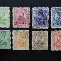 Romania , Carol gravate , Lp 66 , stampilate