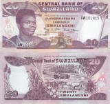 Swaziland 20 Emalangeni 01.04.2006 UNC