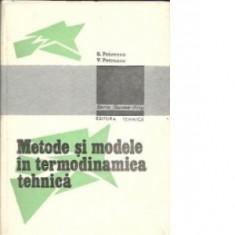 S. Petrescu, V Petrescu - Metode si modele in termodinamica tehnica
