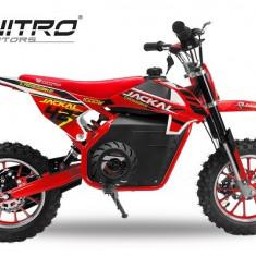 Mini Motocicleta electrica Eco Jackal 1000W Jackal 10 inch Rosu