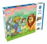 Cumpara ieftin Puzzle cu Povesti - Vrajitorul din Oz, 100 piese, Noriel