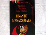FINANTE MANAGERIALE: MODELUL CANADIAN- PAUL HALPERN; J. FRED WESTON; E.BRIGHAM