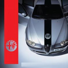 Sticker capota Alfa Romeo (v2)