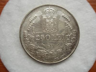 ROMANIA - 250 LEI 1941 NSD , AG835 , MIHAI I , LCP1.32 foto