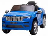 Cumpara ieftin Masinuta electrica Premier Jeep Grand Cherokee, 12V, roti cauciuc EVA, scaun piele ecologica, albastru