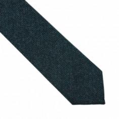Cravata verde lana Calisher