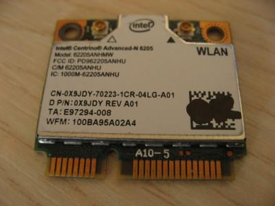 Placa wireless laptop Dell Precision M4600, Intel Advanced-N 6205, 6205ANHMW foto