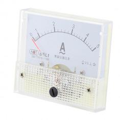 Ampermetru analogic de panou, 5A, AC - 111474
