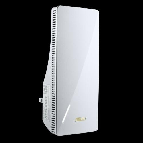 Asus rp-ax56 ax1800 dual band wifi 6 (802.11ax) range extender / aimesh extender network standard: