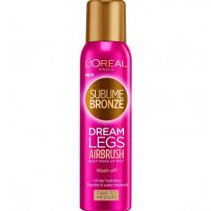 Spray Autobronzant L Oreal Paris Sublime Bronze Dream Legs Airbrush Fair to Medium 150 ml