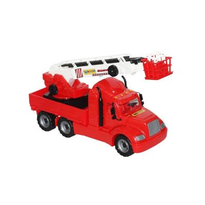 Masina pompieri+macara - Mike, 82x19x37 cm, Wader foto