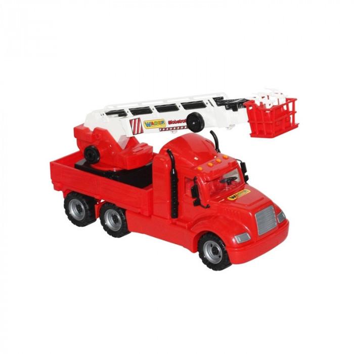 Masina pompieri+macara - Mike, 82x19x37 cm, Wader