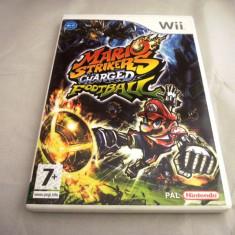 Joc Mario Strikers Charged Football, pentru Wii, original, alte sute de jocuri!