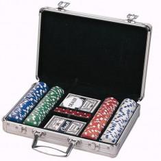 Set poker 200 de piese