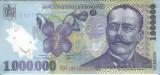AMS - Bancnota 1.000.000 lei 2003 UNC I.L. CARAGIALE NECIRCULATA ISARESCU