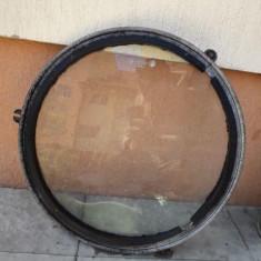 Geam vechi sticla securit Medias lampa industriala comunist